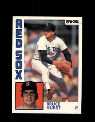 1984 BRUCE HURST OPC #213 O-PEE-CHEE RED SOX *G2358