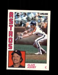 1984 ALAN ASHBY OPC #217 O-PEE-CHEE ASTROS *G2454