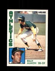 1984 BILLY ALMON OPC #241 O-PEE -CHEE ATHLETICS *G2469