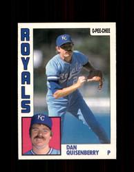 1984 DAN QUISENBERRY OPC #273 O-PEE- CHEE ROYALS *G2475