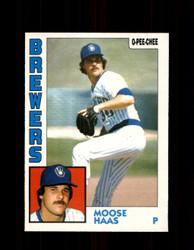 1984 MOOSE HAAS OPC #271 O-PEE- CHEE BREWERS *G2477