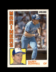 1984 BARRY BONNELL OPC #302 O-PEE- CHEE MARINERS *G2490