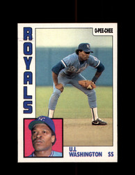 1984 U.L. WASHINGTON OPC #294 O-PEE- CHEE ROYALS *G2495