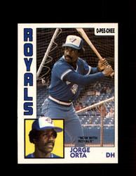 1984 JORGE ORTA OPC #312 O-PEE- CHEE ROYALS *G2517