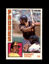 1984 RUPPERT JONES OPC #327 O-PEE- CHEE PADRES *G6463