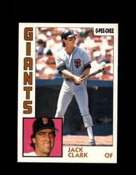 1984 JACK CLARK OPC #381 O-PEE- CHEE GIANTS *G2532