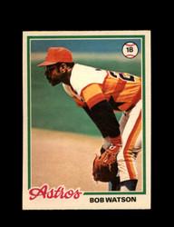 1978 BOB WATSON OPC #107 O-PEE-CHEE ASTROS *G2415