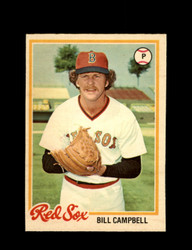 1978 BILL CAMPBELL OPC #87 O-PEE-CHEE RED SOX *G2420