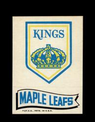 1973 TOPPS EMBLEM KINGS / MAPLE LEAFS *G2585