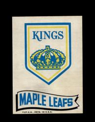 1973 TOPPS EMBLEM KINGS / MAPLE LEAFS *G2586