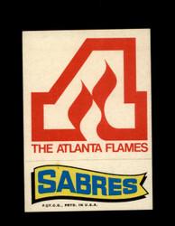 1973 TOPPS EMBLEM FLAMES / SABRES *G2599