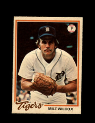 1978 MILT WILCOX OPC #136 O-PEE-CHEE TIGERS *G2681