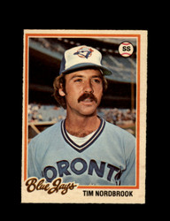 1978 TIM NORDBROOK OPC #139 O-PEE-CHEE BLUE JAYS *G2682