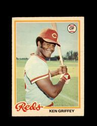 1978 KEN GRIFFEY OPC #140 O-PEE-CHEE REDS *G2683