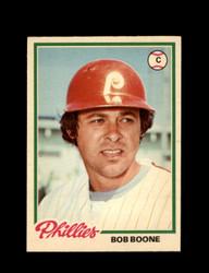 1978 BOB BOONE OPC #141 O-PEE-CHEE PHILLIES *G2684