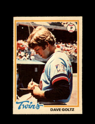 1978 DAVE GOLTZ OPC #142 O-PEE-CHEE TWINS *G2685