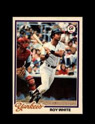 1978 ROY WHITE OPC #48 O-PEE-CHEE YANKEES *G2690