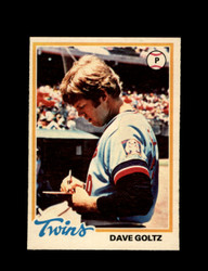 1978 DAVE GOLTZ OPC #142 O-PEE-CHEE TWINS *G2692