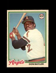 1978 DON BAYLOR OPC #173 O-PEE-CHEE ANGELS *G2702