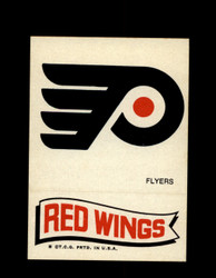 1973 TOPPS EMBLEM FLYERS /  RED WINGS *G2624