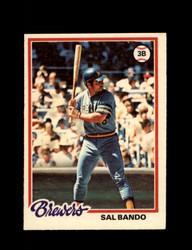 1978 SAL BANDO OPC #174 O-PEE-CHEE BREWERS *G2708
