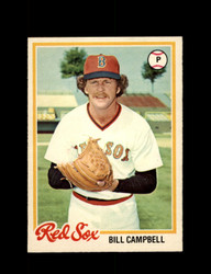1978 BILL CAMPBELL OPC #87 O-PEE-CHEE RED SOX *G2711