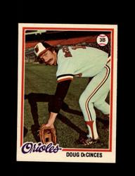 1978 DOUG DECINCES OPC #192 O-PEE-CHEE ORIOLES *G2714