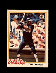 1978 CHET LEMON OPC #224 O-PEE-CHEE WHITE SOX *G2719