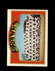 1972 ATLANTA BRAVES OPC #21 O-PEE-CHEE TEAM CARD *G2648