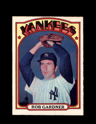1972 ROB GARDNER OPC #22 O-PEE-CHEE YANKEES *G2647