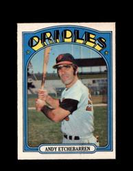 1972 ANDY ETCHEBARREN OPC #26 O-PEE-CHEE ORIOLES *G2643