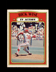 1972 RICK WISE OPC #44 O-PEE-CHEE PHILLIES *G2745