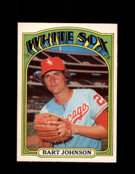1972 BART JOHNSON OPC #126 O-PEE-CHEE WHITE SOX *G2815