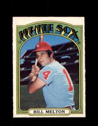 1972 BILL MELTON OPC #183 O-PEE-CHEE WHITE SOX *G2867
