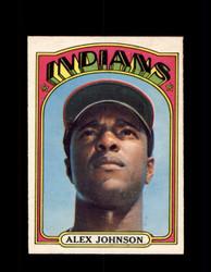 1972 ALEX JOHNSON OPC #215 O-PEE-CHEE INDIANS *G2897