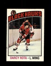 1976 DARCY ROTA OPC #47 O-PEE-CHEE BLACK HAWKS *G4083