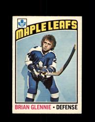 1976 BRIAN GLENNIE OPC #99 O-PEE-CHEE MAPLE LEAFS *G4086