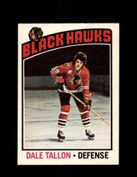 1976 DALE TALLON OPC #89 O-PEE-CHEE BLACK HAWKS *G4090