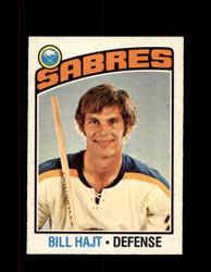 1976 BILL HAJT OPC #128 O-PEE-CHEE SABRES *G4098