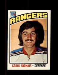1976 CAROL VADNAIS OPC #257 O-PEE-CHEE RANGERS *G4106