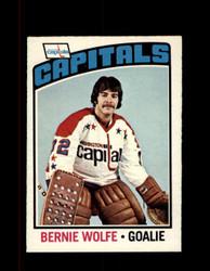 1976 BERNIE WOLFE OPC #227 O-PEE-CHEE CAPITOLS *G4114