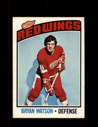 1976 BRYAN WATSON OPC #228 O-PEE-CHEE RED WINGS *G4115
