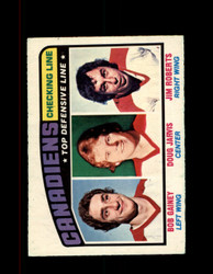 1976 CANADIENS OPC #217 O-PEE-CHEE TOP DEF. LINE *G4120