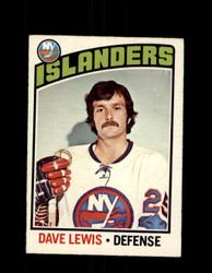 1976 DAVE LEWIS OPC #221 O-PEE-CHEE ISLANDERS *G4128