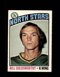 1976 BILL GOLDSWORTHY OPC #169 O-PEE-CHEE NORTH STARS *G4153