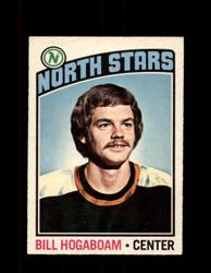 1976 BILL HOGABOAM OPC #73 O-PEE-CHEE NORTH STARS *G4161