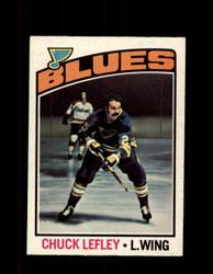 1976 CHUCK LEFLEY OPC #63 O-PEE-CHEE BLUES *G4165