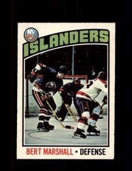 1976 BERT MARSHALL OPC #62 O-PEE-CHEE ISLANDERS *G4166