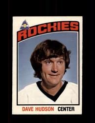 1976 DAVE HUDSON OPC #299 O-PEE-CHEE ROCKIES *G4191