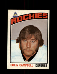 1976 COLIN CAMPBELL OPC #372 O-PEE-CHEE ROCKIES *G8489
